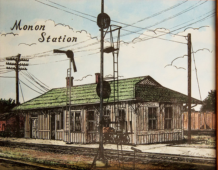 Mitchell Monon Station