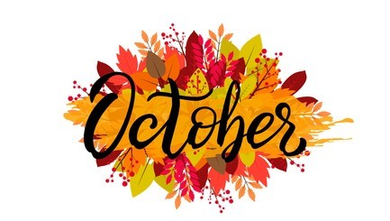 All October Events Canceled