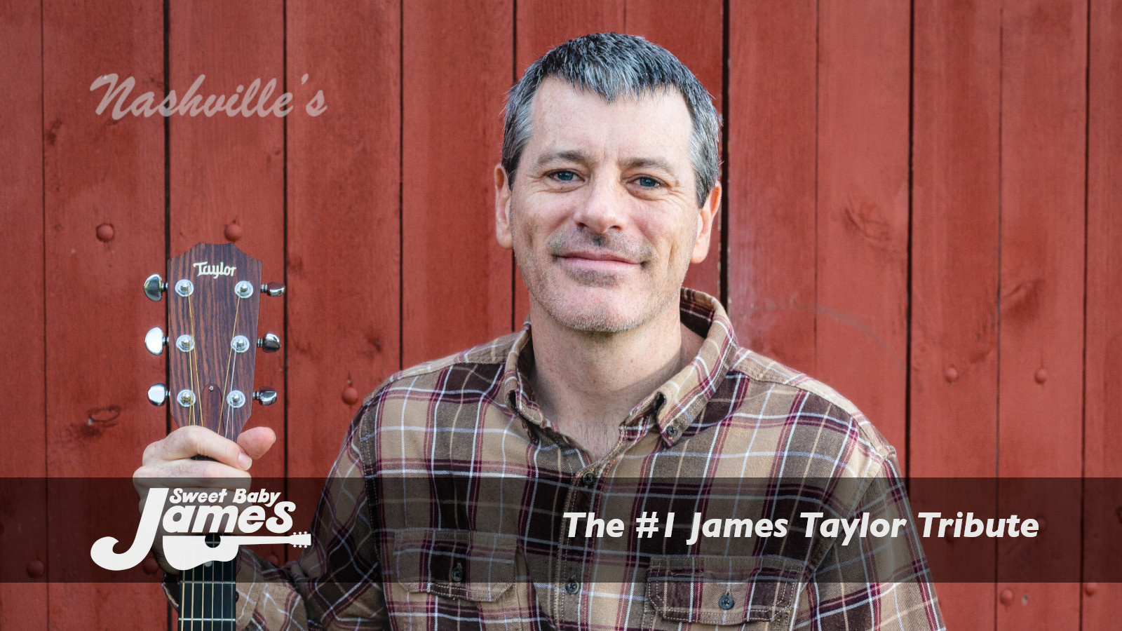 Sweet Baby James – James Taylor Tribute
